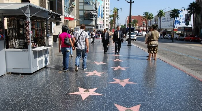 walk of fame in hollywood la los angeles