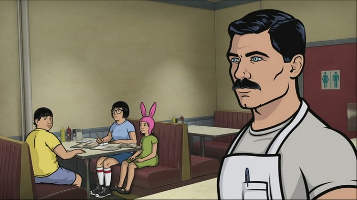 archer crossover with bobs burgers