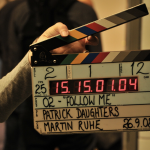 movie auditions-Clapperboard
